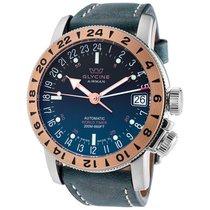 Glycine Airman 17 Royal Blue Dial Automatic Men's Watch