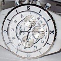 Chanel J12 Chrono Chronograph H2009 Diamonds