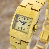 Enicar Vintage Rare Swiss Lady Gold Plated Manual Mechanical...