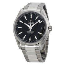 Omega Aqua Terra Automatic Chronometer Black Dial Mens Watch...