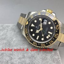 勞力士 (Rolex) GMT-Master II Gold & Steel 40mm M serial W card
