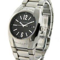 Bulgari EG30BSLD Ergon Small in Steel - on Steel Bracelet with...