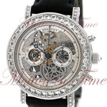 Breguet Classique Chronograph, Skeleton Dial, Baguette Bezel,...
