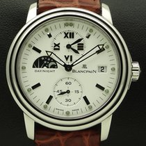 Blancpain Leman Time Zone, stainless steel