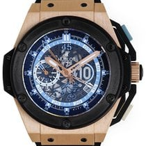 Hublot Big Bang King Power Diego Maradona Skeleton Dial Rose...
