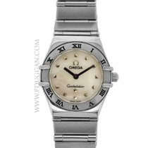 Omega stainless steel Ladies Constellation