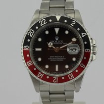 Rolex GMT MASTER II Oyster Perpetual Date Automatic Steel 16710