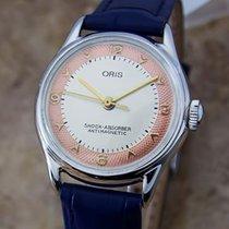 Oris Swiss Made 1960s Manual Stainless Steel Vintage Unisex...