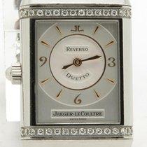 Jaeger-LeCoultre Reverso Duetto Lady's Factory Diamonds...