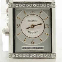 Jaeger-LeCoultre Reverso Duetto Lady's Factory Diamonds...