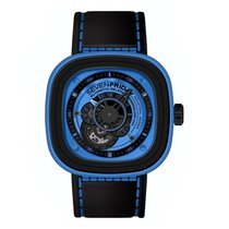 "Sevenfriday P1/04 Stainless Steel / PVD ""Blue"""