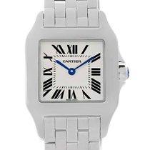 Cartier Santos Demoiselle Steel Midsize Watch W25065z5 Box Papers