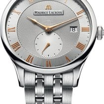 Maurice Lacroix Masterpiece Mens Stainless Steel Watch...