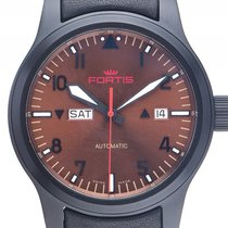 Fortis B-42 Aeromaster Dusk Day Date Stahl PVD Automatik...