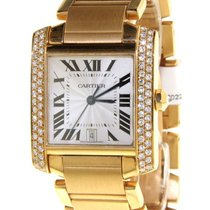 Cartier - tank francaise - ref 1840- wristwatch
