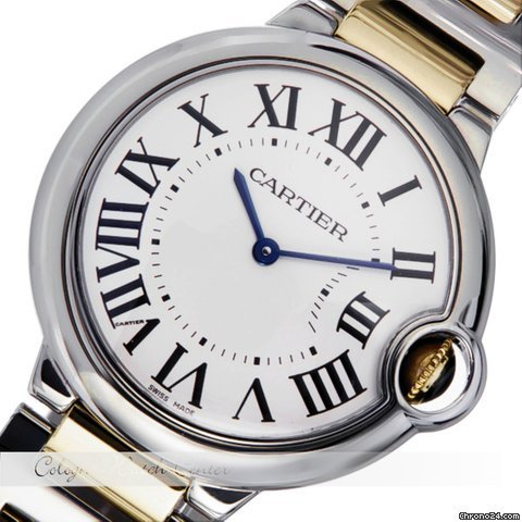Cartier Ballon Bleu Stahl / Gold