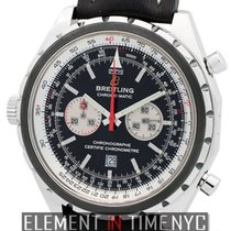Breitling Navitimer Chrono-Matic Stainless Steel 44mm Grey Bezel