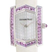 Audemars Piguet Facettes Pink Sapphires 18K Solid White Gold