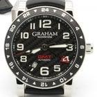 Graham Silverstone Gmt Automatic Men's Watch 42mm W/ Box...