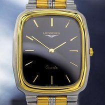 Longines Rare Swiss Made Yellow Gold Plated Stainless Steel...