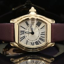 Cartier Ladies 18ct Yellow Gold Cartier Roadster, MINT