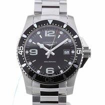 Longines HydroConquest 41 Quartz Black Dial