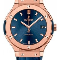 Hublot Classic Fusion Automatic Blue King Gold Men's Watch