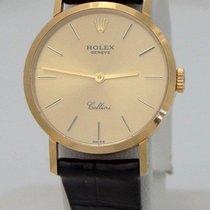 Rolex Ladies Rolex Geneve Cellini 18k Yellow Gold Manual Wind...
