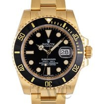 勞力士 (Rolex) Submariner Black/18k gold Ø40mm - 116618LN