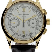 Patek Philippe Complications Chronograph 18K Yellow Gold...