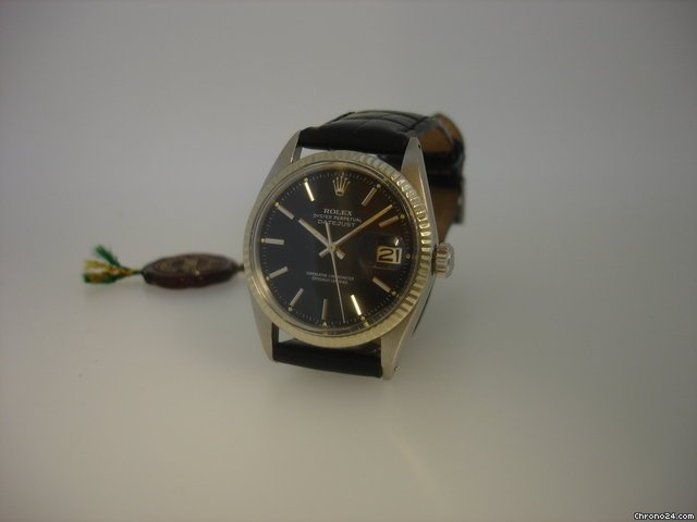 Rolex Oyster Precision Datejust Officially Certified Chronometer