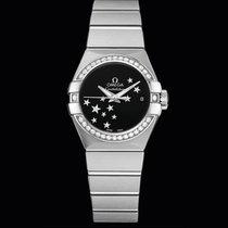 Omega Constellation Co-Axial Automatic 27mm Diamonds T