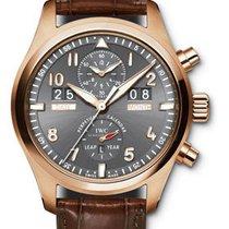 IWC Pilots Watch Spitfire Perpetual Calendar Digital Date-Mont...