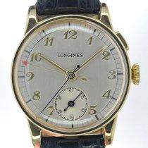 Longines Mans Wristwatch Single Button Military Chronograph...