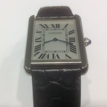 Cartier Tank Solo Big size stainless steel