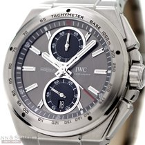 IWC Ingenieur Chronograph Racer Ref-IW378508 Stainless Steel...