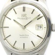 IWC Vintage Iwc Yacht Club Cal 8541 Steel Automatic Mens Watch...