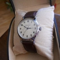 """Jaeger-LeCoultre """" Very rare military, men's watch..."""