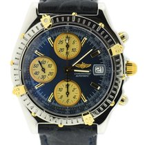 Breitling Chronomat Blue Dial Two Tone Stainless Steel