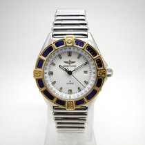 Breitling Lady J Stahl /Gold Revisioniert
