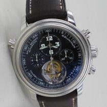 Blancpain Leman Tourbillon Chronograph Platin Limited