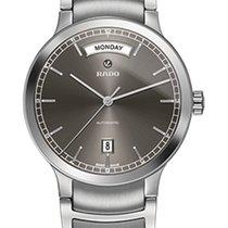 雷达 (Rado) Rado Men's R30156103 Centrix Automatic Day-Date...