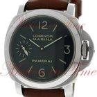Panerai Luminor Marina Acciaio 44mm Hand Wound, Black Dial,...
