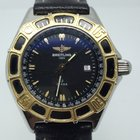 Breitling J CLASS LADY STEEL GOLD BLACK DIAL