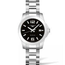 Longines Ladies l33784586 Conquest Quartz Watch
