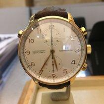IWC Portoghese cronografo rattrappante oro rosa