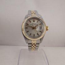 Rolex Lady ref. 6919 acciaio oro anno 1983 quadrante argento