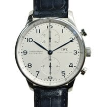 IWC Portuguese Stainless Steel Silver Automatic IW371446