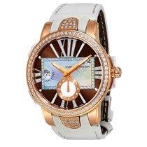 Ulysse Nardin Executive Lady 18K Rose Gold Diamond Automatic...