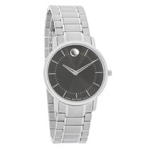 Movado TC Series Ladies Black Dial Swiss Quartz Watch 0606690